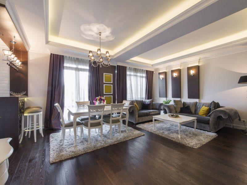2 комнатные апартаменты в Москве, 78м2