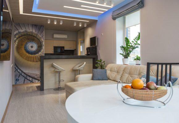3-комнатная евро-квартира в Москве, 68м²