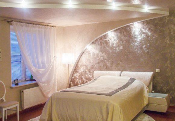 Спальня, Коттедж на Новой Риге